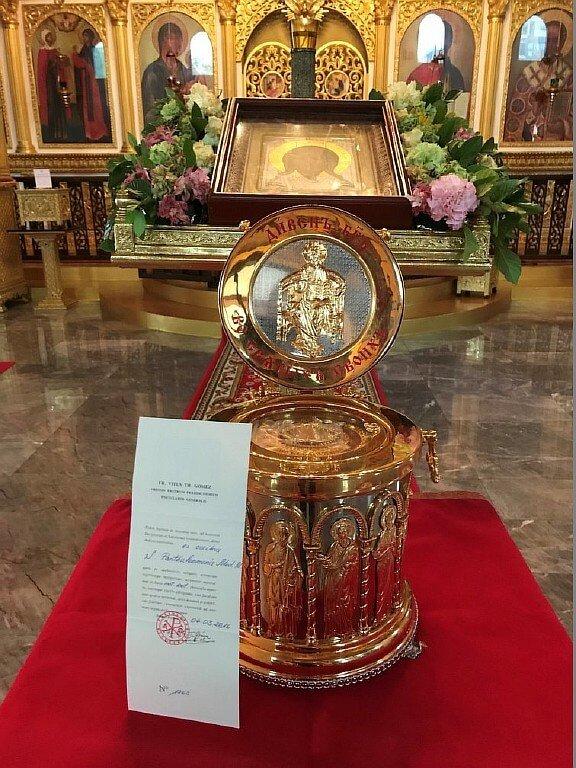 Приглашаем всех желающих принять участие в молитве у мощей Святого целителя Пантелеимона