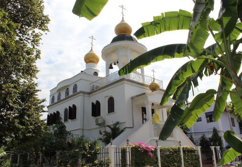 Православный Храм Всех Святых г. Паттайя