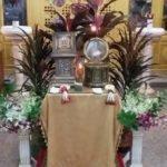 Святые мощи свт. Николая Чудотворца и св. вмч. и цел. Пантелеимона в храме Всех Святых г. Паттайи
