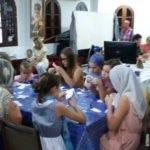 Участие детей в Рождественском конкурсе рисунков