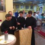 Мужской состав Свято-Николаевского собора