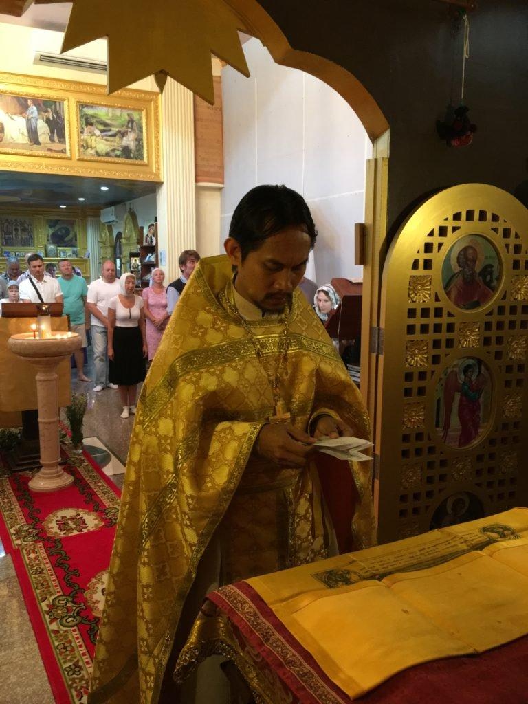 Престольный праздник Всех-святского прихода.