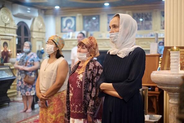 Канун праздника Покрова Пресвятой Владычицы нашей Богородицы и Приснодевы Марии