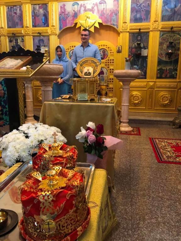 7 сентября 2018 года в нашем храме состоялось таинство венчания рабов Божьих Бориса и Валентины.