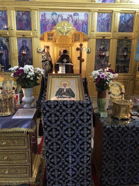 Сегодня, 8 марта, в нашем храме была отслужена Божественная Литургия Преждеосвященных Даров.