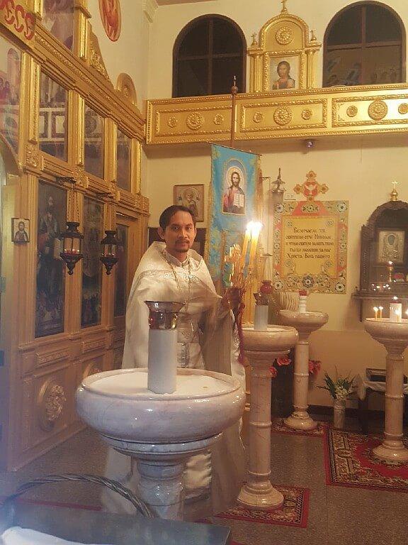 «Воскресение Христово славивши» В нашем храме в ночь с 7 на 8 апреля прошло ночное пасхальное богослужение