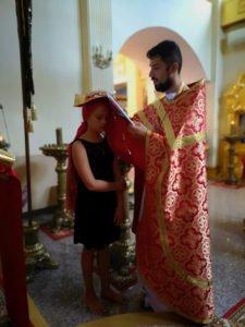 Божественная Литургия в день памяти св. блаж. Матроны Московской