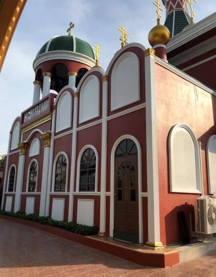 Завершено строительство придельного храма в честь прп. Сергия Радонежского при Свято-Николаевском соборе г. Бангкока